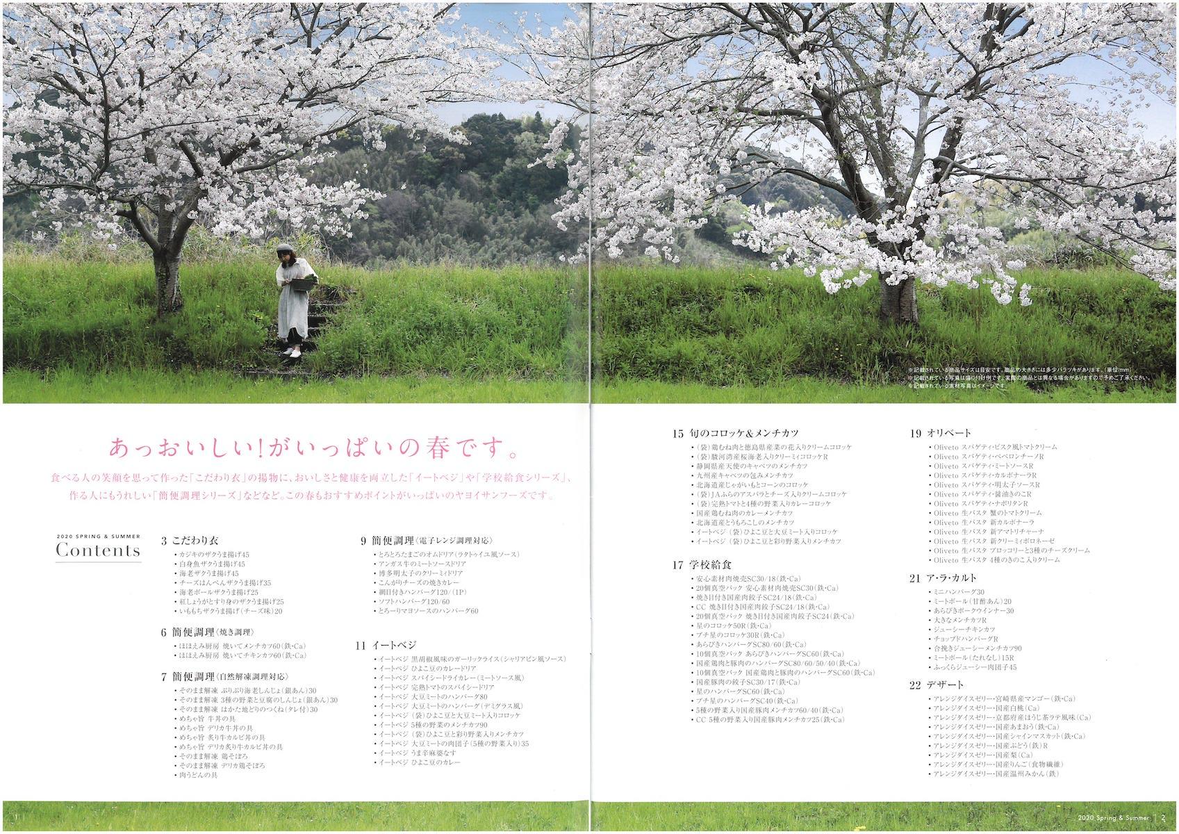 ヤヨイサンフーズ2020春