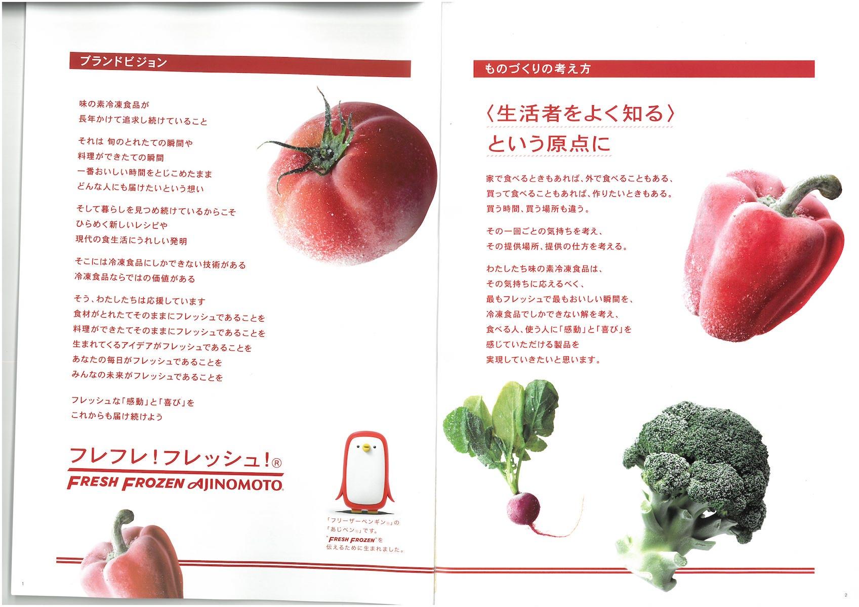 味の素冷凍食品 2021年