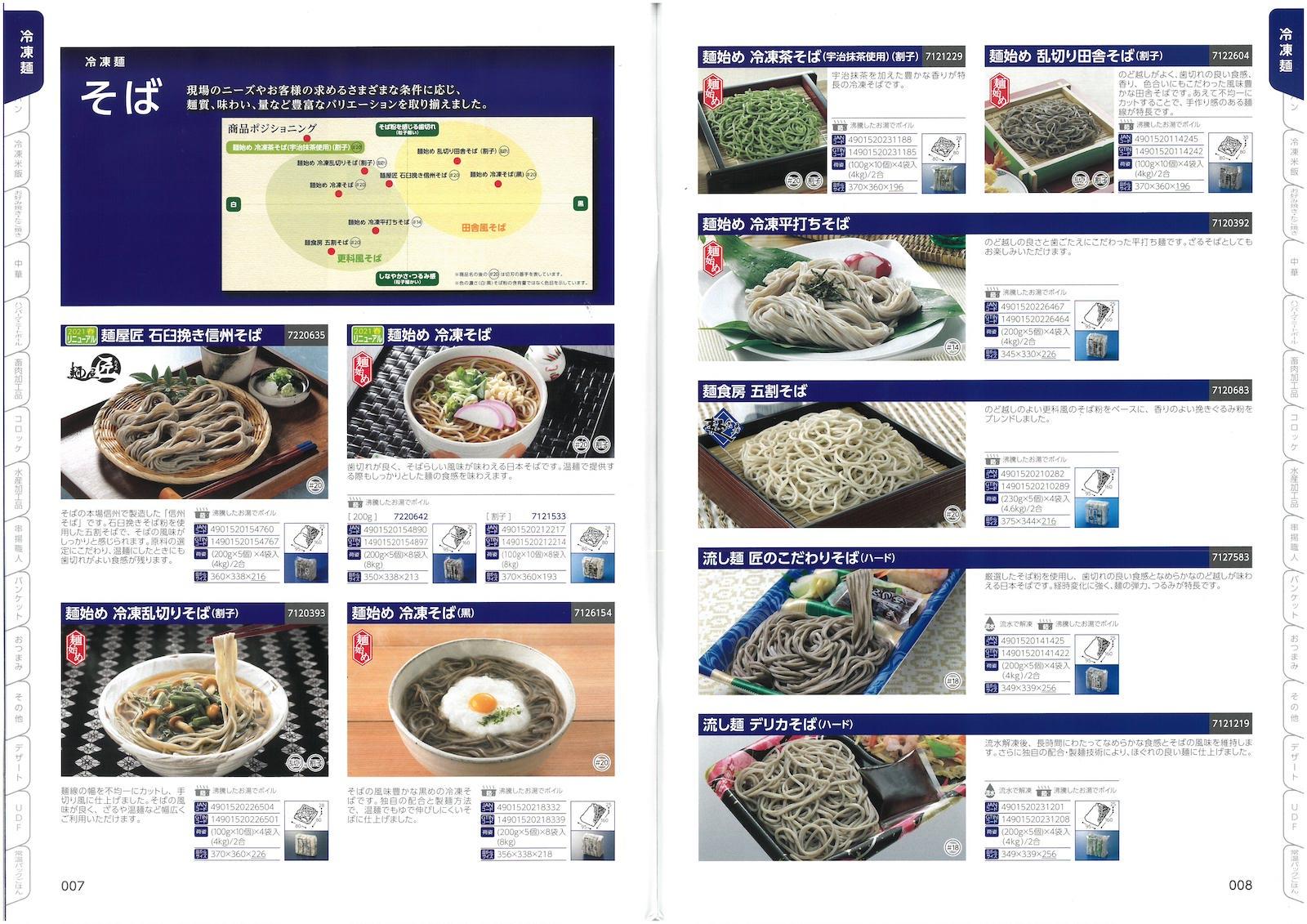 テーブルマーク2021 業務用総合カタログ